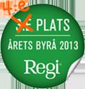 Årets Byrå 2013 - 4:e plats